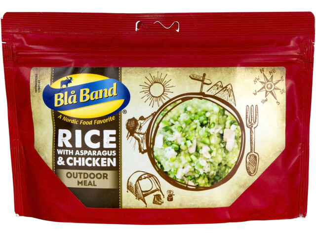 Bla Band Outdoor Meal Rice with Asparagus and Chicken 143g